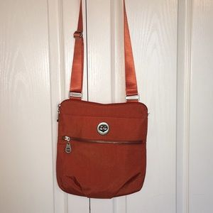 Baggallini Orange Cross Body Adjustable Strap